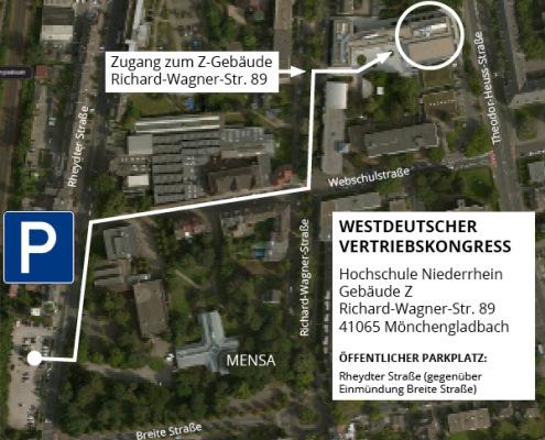 Westdeutscher Vertriebskongress Lageplan